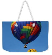 Two Colorful Balloons Weekender Tote Bag