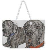 Two Cool Danes Weekender Tote Bag