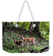 Two Deer Weekender Tote Bag