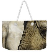 Two Elephants' Eyes Weekender Tote Bag