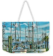 Two Fishing Boats Hdr Weekender Tote Bag