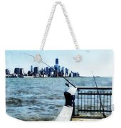 Two Fishing Poles Weekender Tote Bag