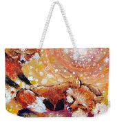 Two Foxes You Have A Friend In Me Weekender Tote Bag