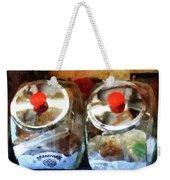 Two Glass Cookie Jars Weekender Tote Bag