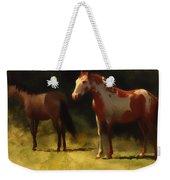 Two Horses Weekender Tote Bag