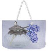 Two Hyacinth Flowers Weekender Tote Bag
