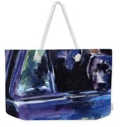 Two Into Fifty One Weekender Tote Bag by Molly Poole