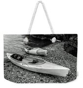 Two Kayaks On Seneca Lake Weekender Tote Bag
