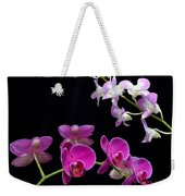 Two Kind Of Orchid Flower Weekender Tote Bag