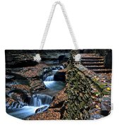Two Kinds Of Steps Weekender Tote Bag by Frozen in Time Fine Art Photography