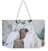 Two Ladies Weekender Tote Bag