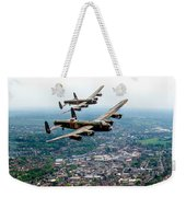 Two Lancasters Over High Wycombe Weekender Tote Bag
