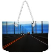 Two-lane Blacktop Weekender Tote Bag