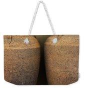 Two Large Garden Urns Weekender Tote Bag