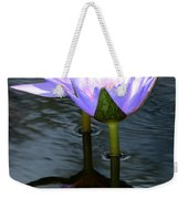 Two Lilies And A Heart Weekender Tote Bag
