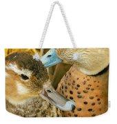 Two Little Ducks Weekender Tote Bag