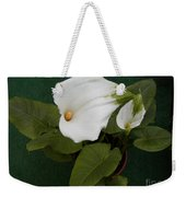 Two Lovely Lilies Weekender Tote Bag