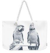 Two Macaws Weekender Tote Bag