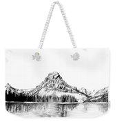 Two Medicine Mountain Weekender Tote Bag