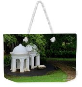 Two Meditating Cupolas In Fort Canning Park Singapore Weekender Tote Bag
