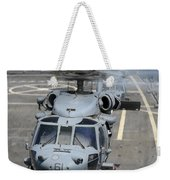 Two Mh-60s Sea Hawk Helicopters Take Weekender Tote Bag
