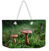 Two Mushrooms Weekender Tote Bag