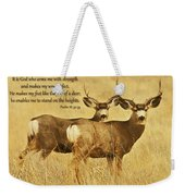 Two Of A Kind Weekender Tote Bag