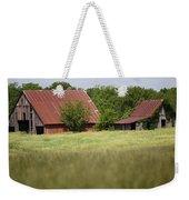 Two Old Barns Weekender Tote Bag