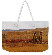 Two Old Barns Near Thorp  Wa Weekender Tote Bag