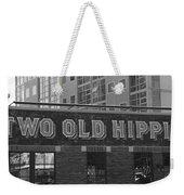 Two Old Hippies In Nashville Weekender Tote Bag