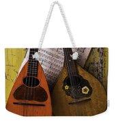 Two Old Mandolins Weekender Tote Bag