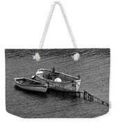 Two Old Rowboats Weekender Tote Bag