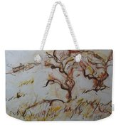 Two Olive Trees Weekender Tote Bag