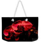 Two Orchids Weekender Tote Bag