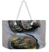 Two Oysters Weekender Tote Bag