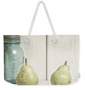 Two Pear Still Life Weekender Tote Bag