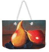 Two Pears Weekender Tote Bag by Anastasiya Malakhova