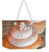 Two Pink Cupcakes Art Prints Weekender Tote Bag