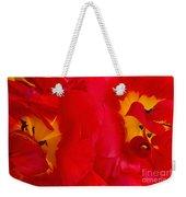 Two Red Tulips Weekender Tote Bag