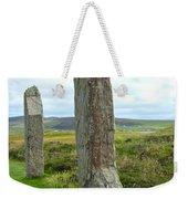 Two Ring Of Brodgar Stones Weekender Tote Bag