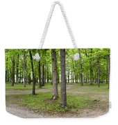 Two Roads Diverged Letchworth State Park Panorama Weekender Tote Bag