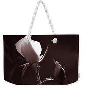 Two Rose Buds Weekender Tote Bag
