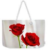 Two Roses Weekender Tote Bag