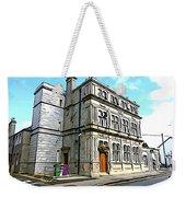 Two Rubbish Bins In Sligo Weekender Tote Bag
