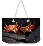 Two Sally Lightfoot Crabs Weekender Tote Bag