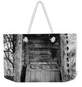 Two-seater Outhouse Weekender Tote Bag