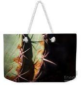 Two Shades Of Cactus Weekender Tote Bag
