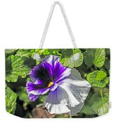 Two Shades Of Color Weekender Tote Bag