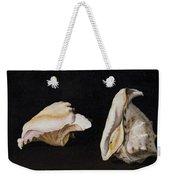 Two Shells Weekender Tote Bag
