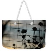 Two Sides Of The Fence Weekender Tote Bag